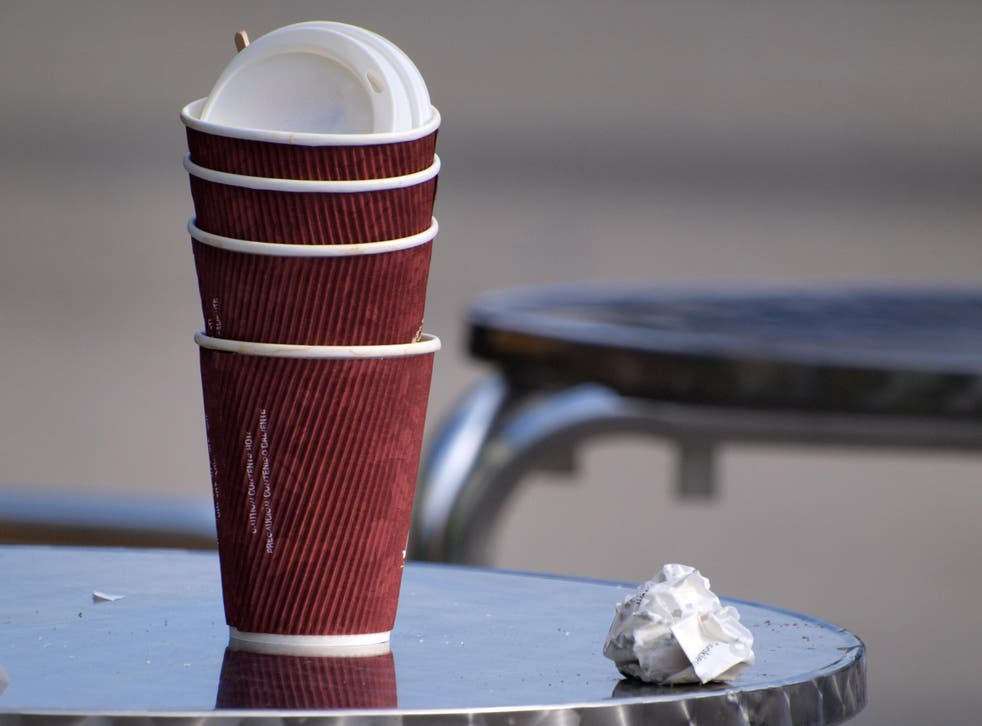 Britons throw away more than two billion disposable coffee cups each year