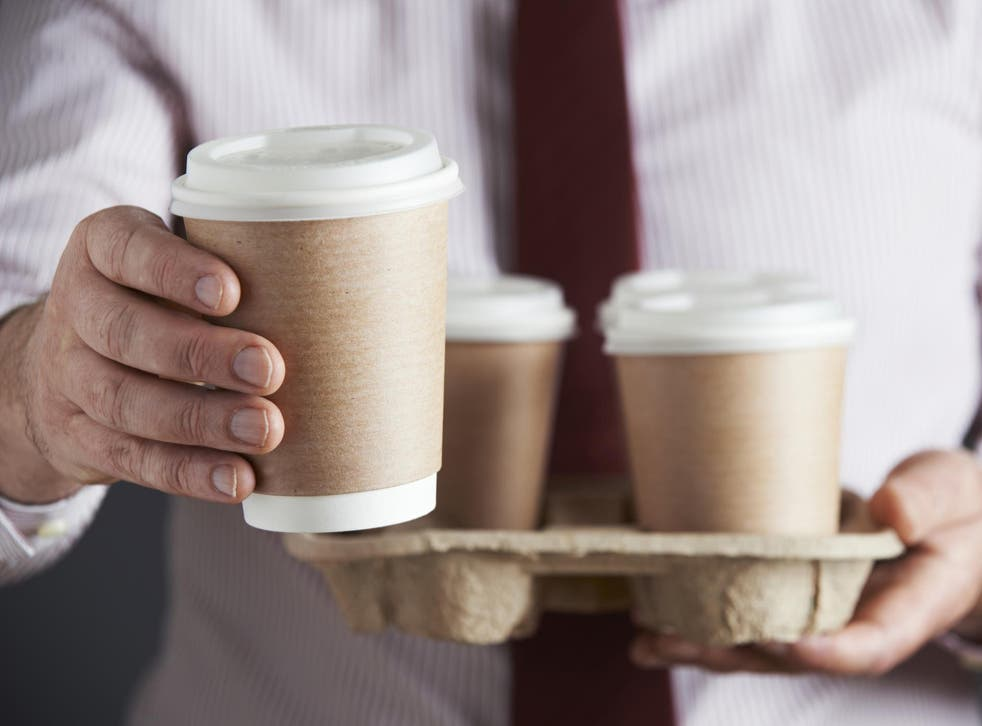 Move comes as the government is considering a 'latte levy' which would bring in a charge on disposable coffee cups
