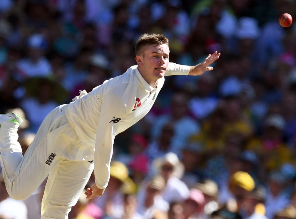 Mason Crane was pleased with how his first taste of Test bowling went