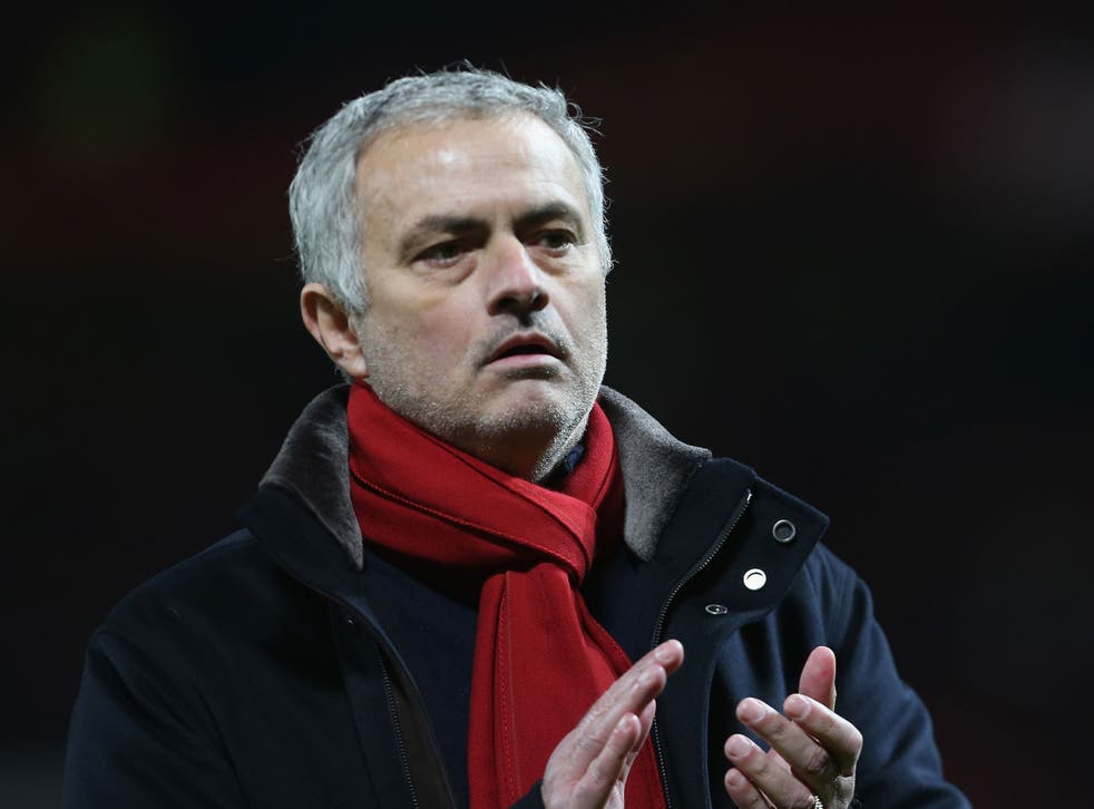 Manchester United manager Jose Mourinho is looking for a new left back