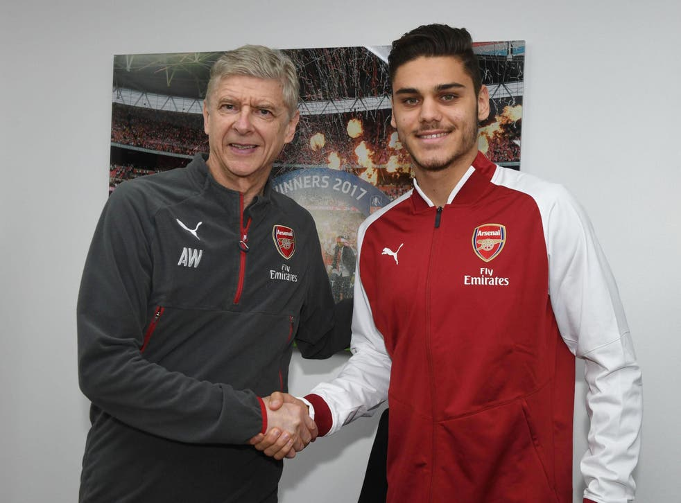 Mavropanos signed for Arsenal on Thursday but will likely be loaned out