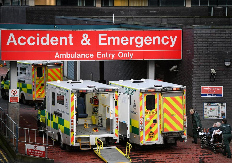 Nhs Ae Waiting Time Performance At Worst Ever Levels The Independent