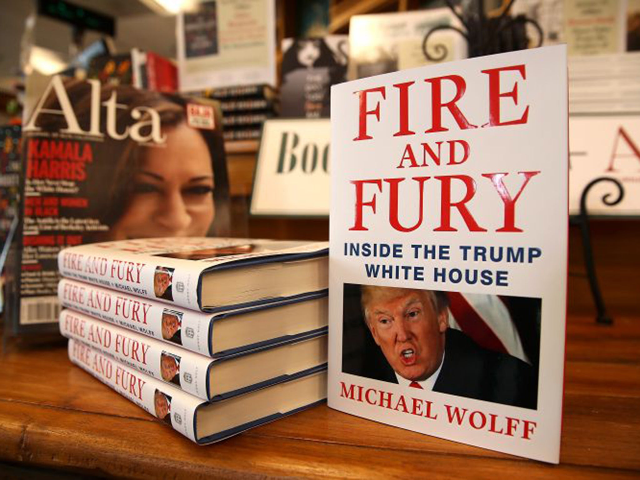 Fire and Fury on track to outsell Donald Trump's The Art of the Deal