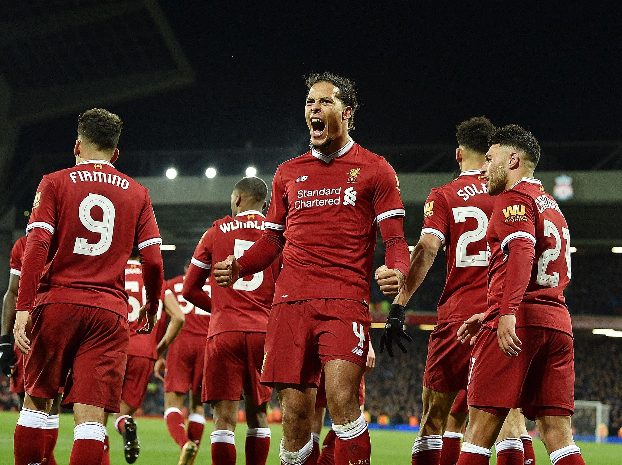 Liverpool's Record Signing Virgil Van Dijk Climbs Highest