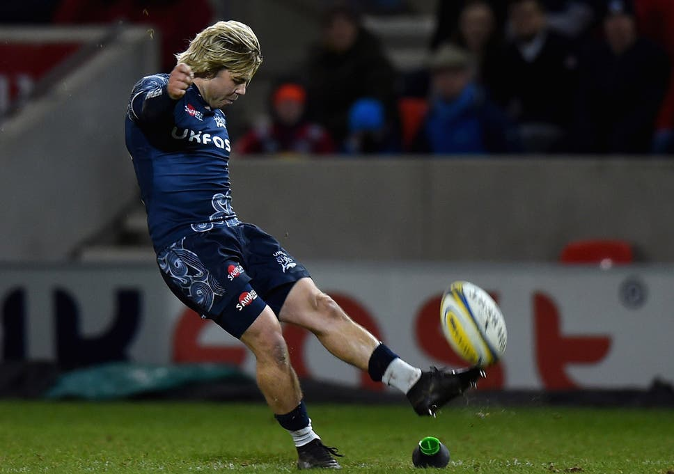 0c3497a91b5 Aviva Premiership  Sale Sharks edge out Harlequins after Jo Marler s red  card while Leicester see off London Irish
