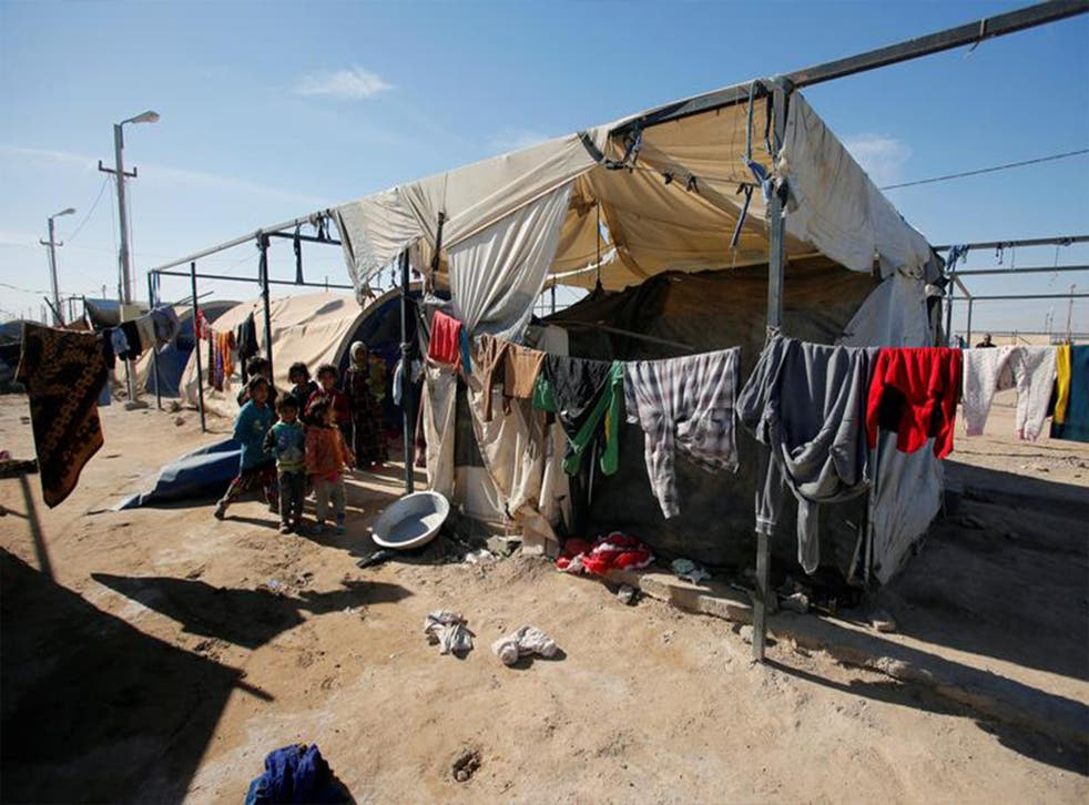Over two million citizens have been displaced by the war against Isis