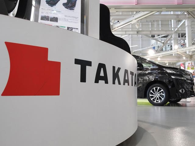Takata has been forced to recall 69m air bags in total over safety fears