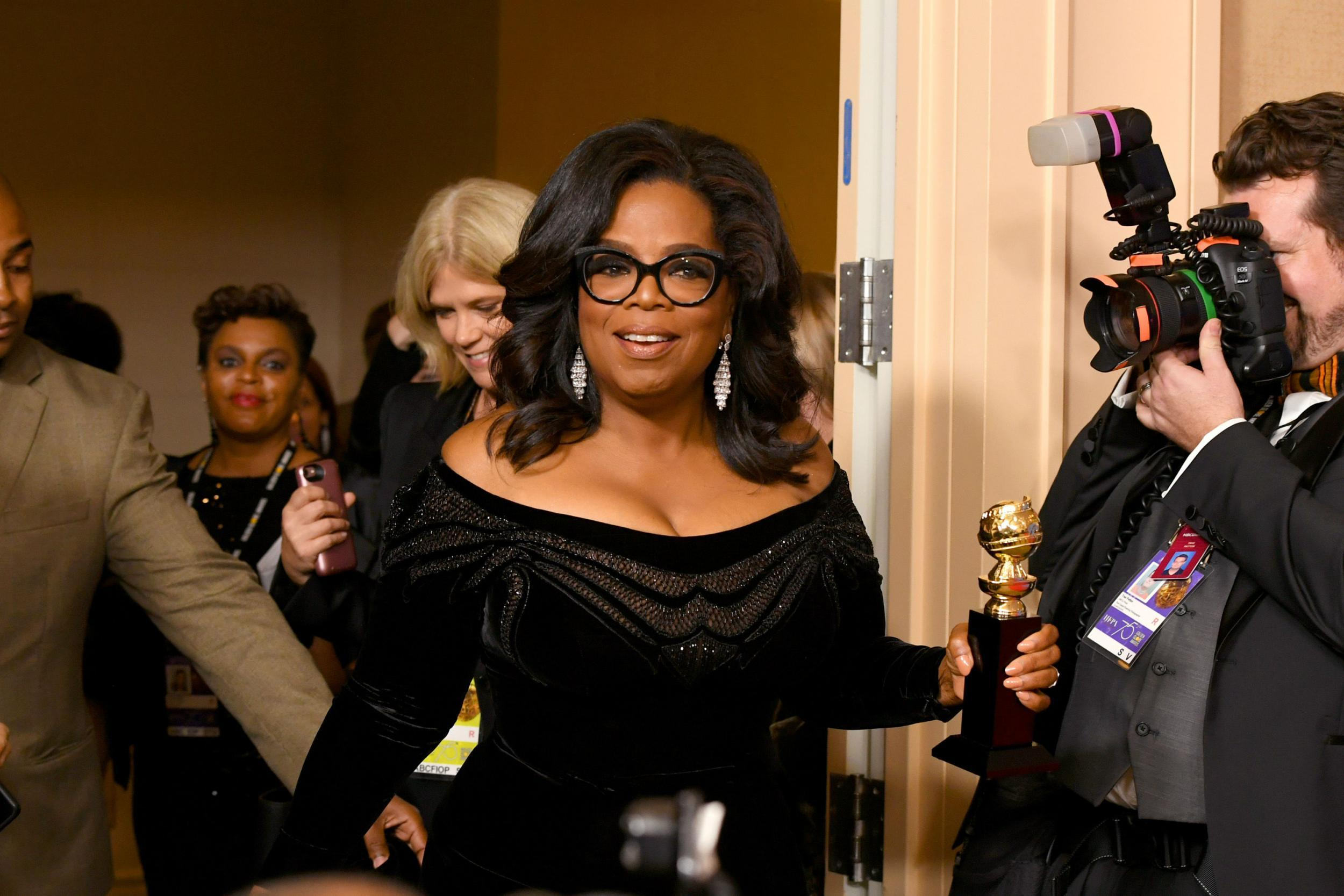Oprah Winfrey is 'actively considering' running for president in 2020