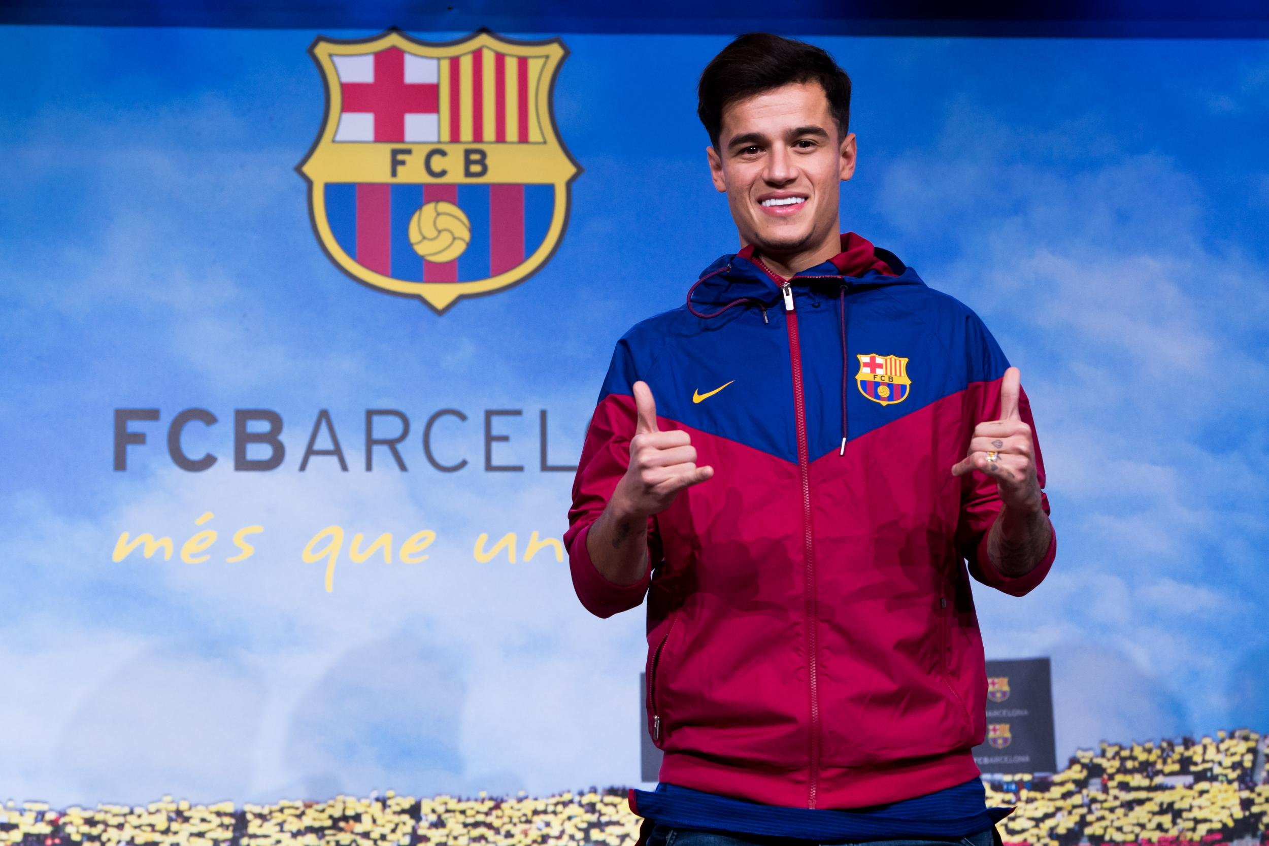Philippe Coutinho unveiling LIVE: Barcelona unveil new signing after agreeing £142m deal with Liverpool