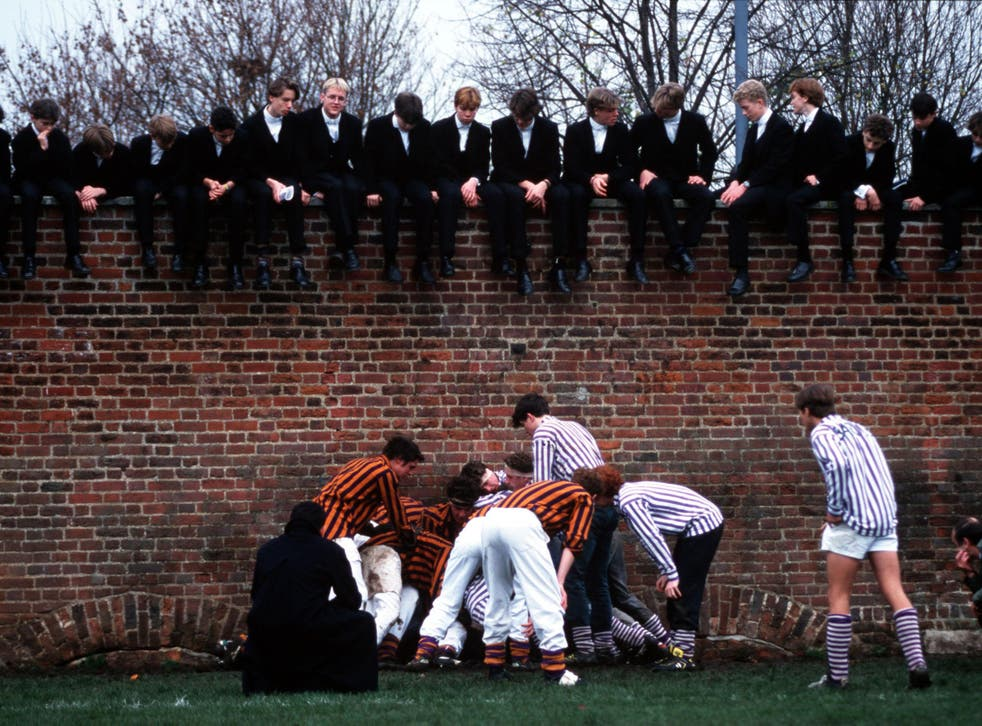 The Eton wall game bears some traits of Rugby Union and is still played to this day