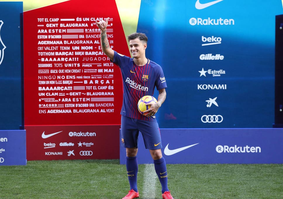 c6239e47b3a Philippe Coutinho will hold his first press conference since joining  Barcelona