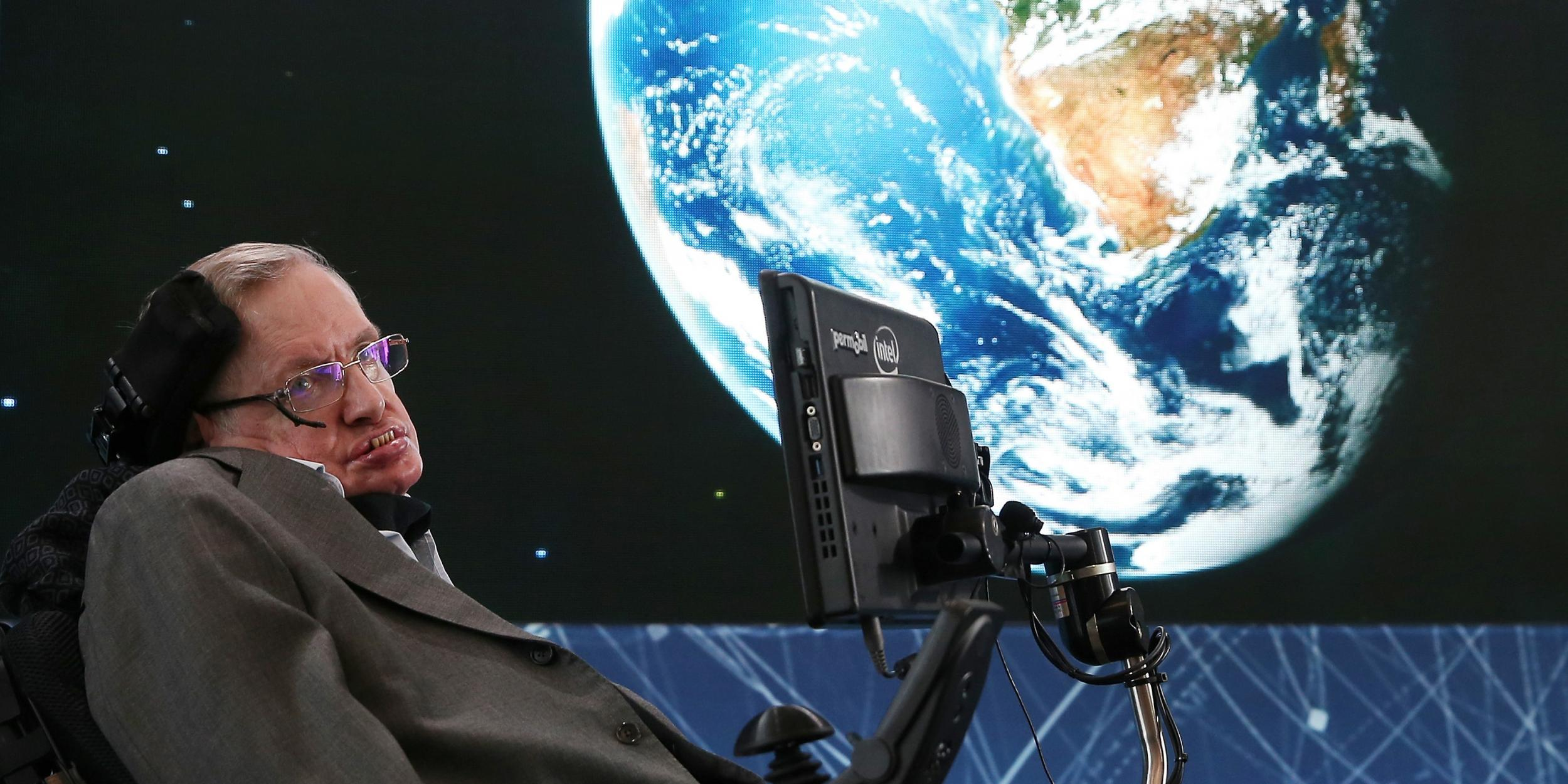 Stephen Hawking has perfect advice for people with depression
