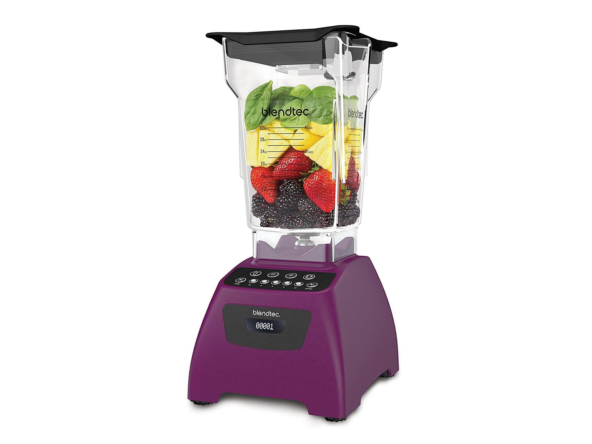 Its pricey, but Blendtecs 1560W powerhouse of a blender is an investment you can feel confident in. A favourite in professional kitchens, ...