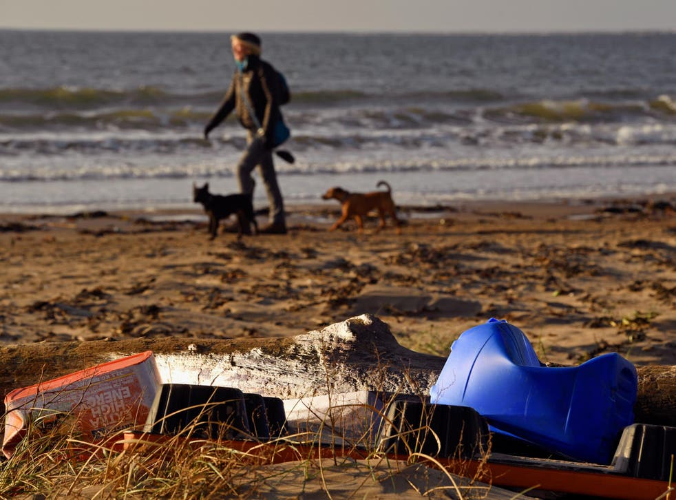 All sorts of everyday items can end up polluting the environment