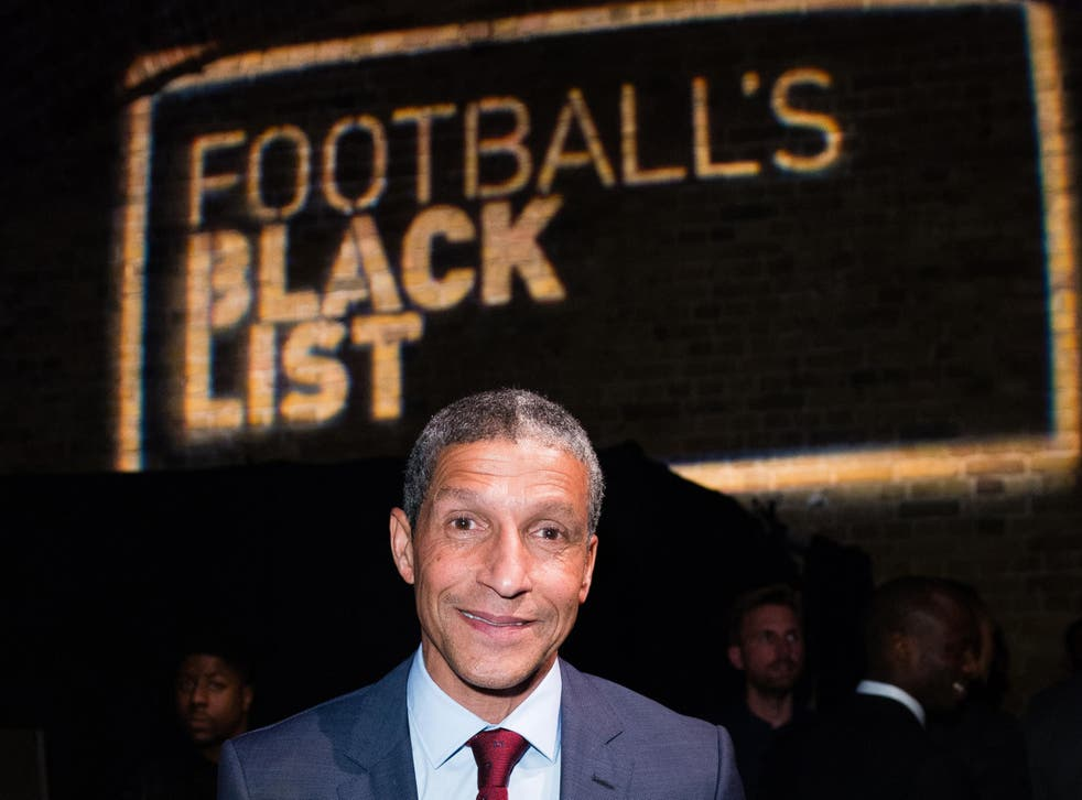 Hughton is in line for an interview to be the next England manager