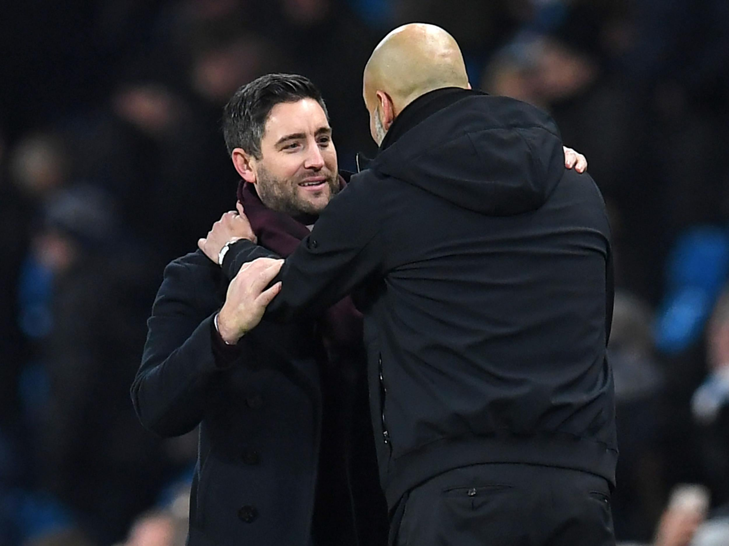 Bristol City manager Lee Johnson reveals what Manchester City counterpart Pep Guardiola said to him