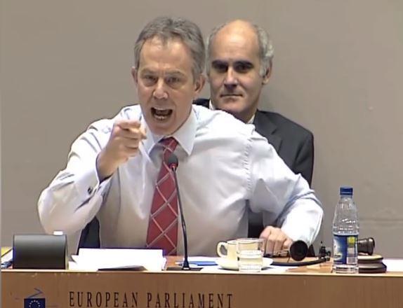 Tony Blair's 2005 takedown of Nigel Farage in EU parliament resurfaces
