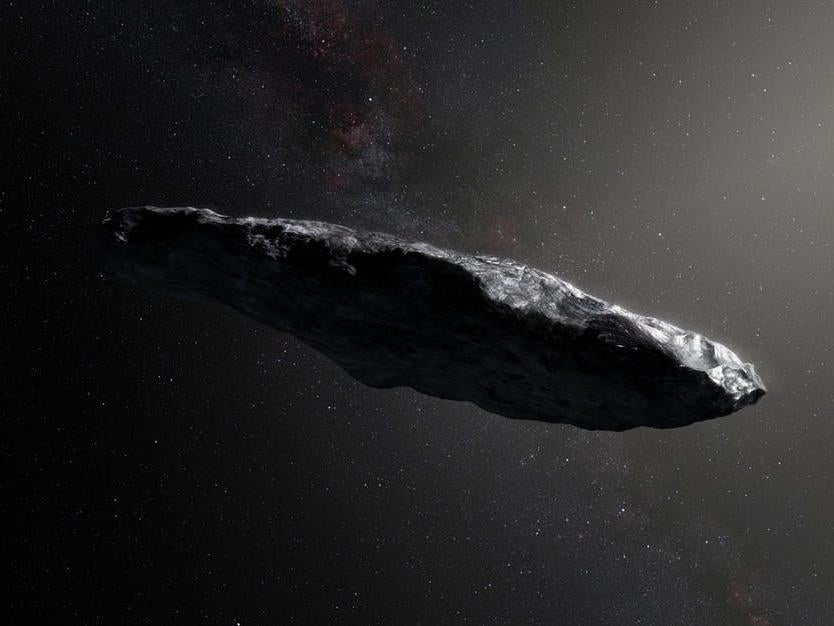 Oumuamua: Asteroid that flew past Earth could have been a spacecraft sailing past us, Harvard scientists suggest