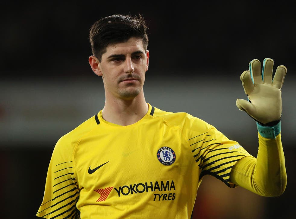 Courtois lived in Madrid for three years and has two children living there