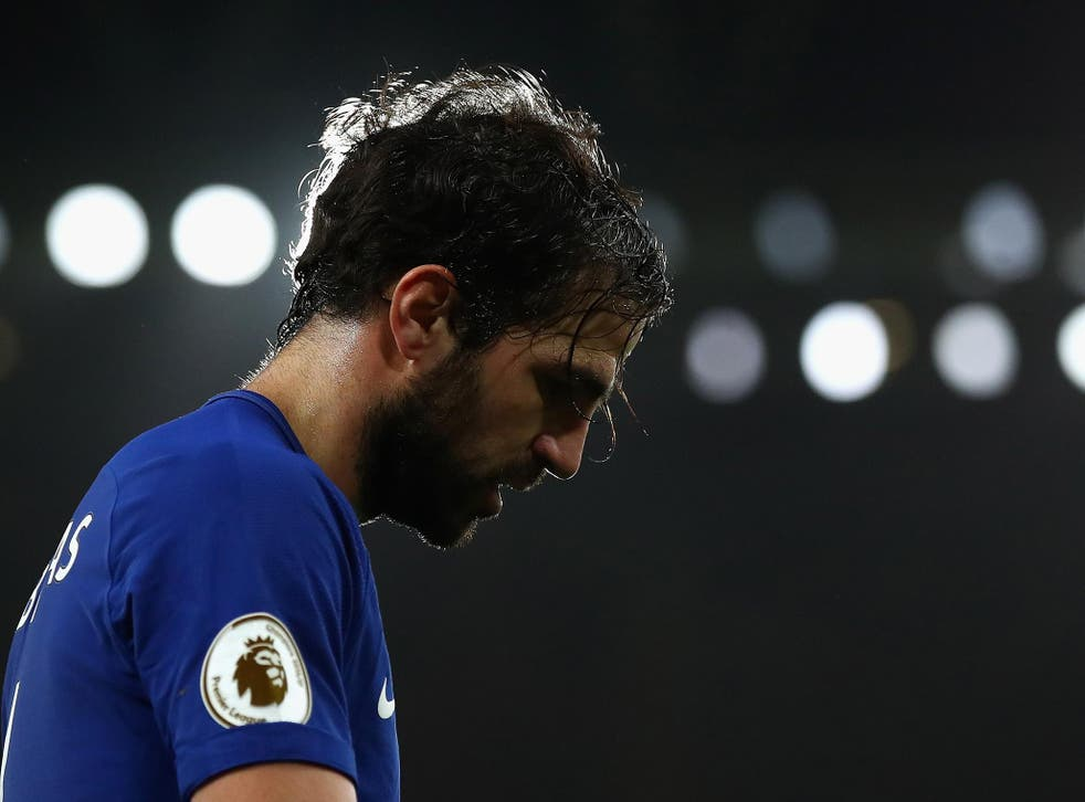 Cesc Fabregas will miss the second leg with Arsenal