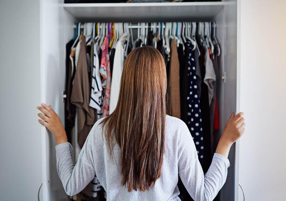 fdd090383 How to declutter your wardrobe for the new year | The Independent