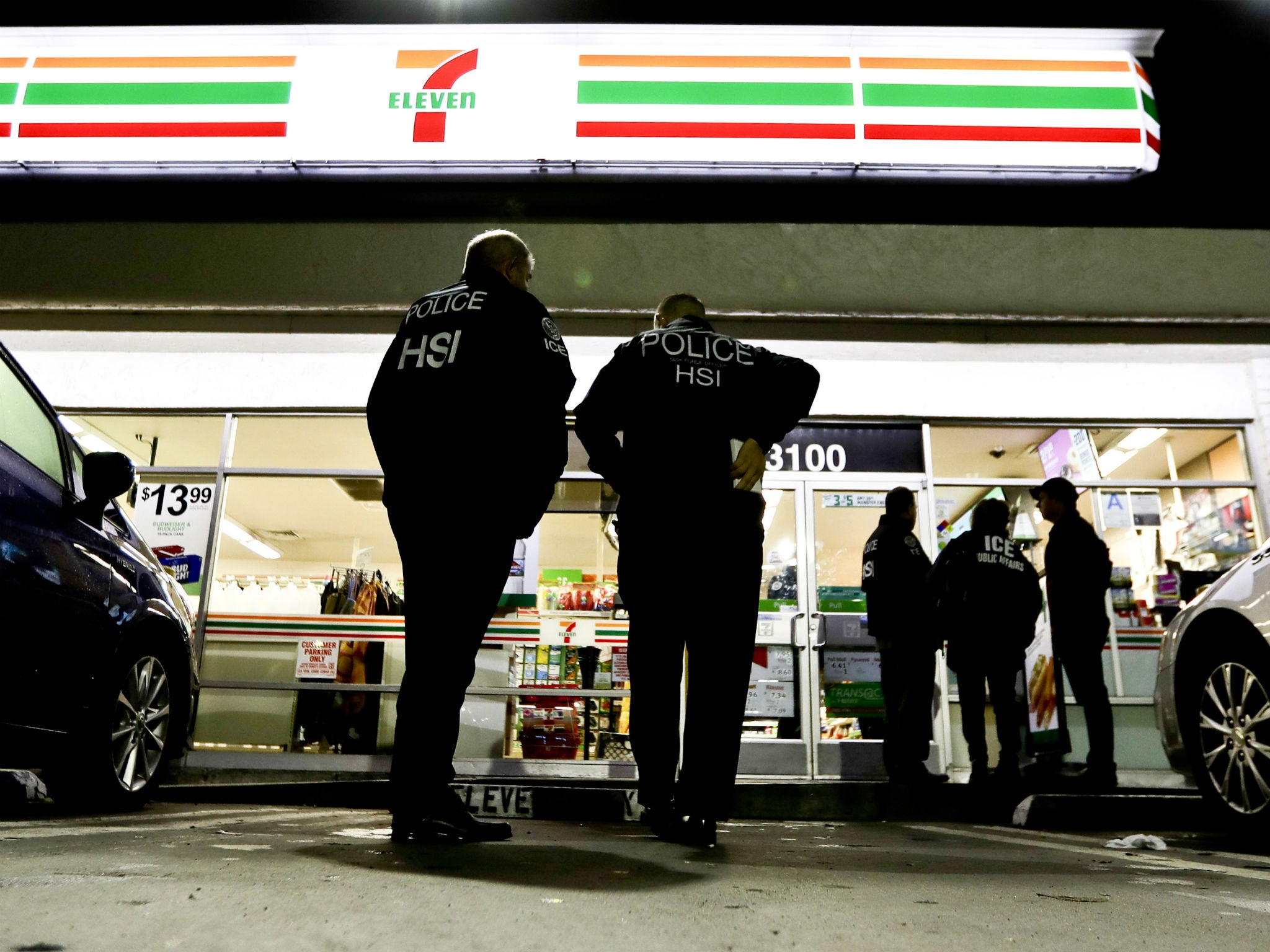 ICE officials target 7-Eleven shops in immigration crackdown