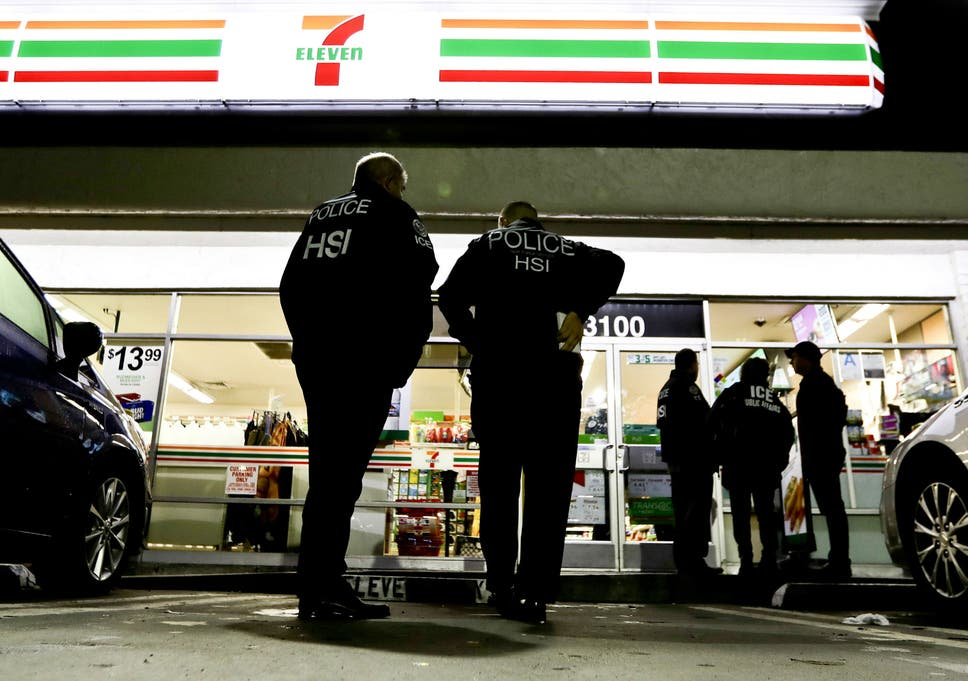 2017 12 01 Ice Looking To Target Employers Who Hire Illegal Immigrants  >> Immigration Officials Target 7 Eleven Shops Amid Trump Crackdown On