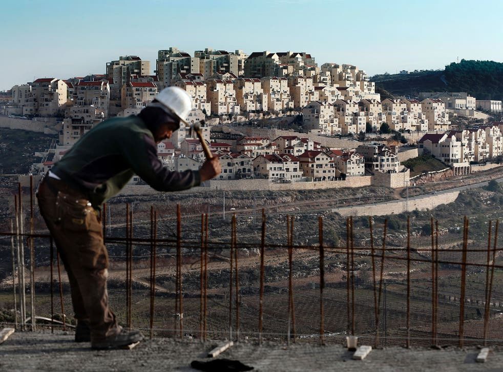 Settlements are one of the most heated issues in efforts to restart Israeli-Palestinian peace talks