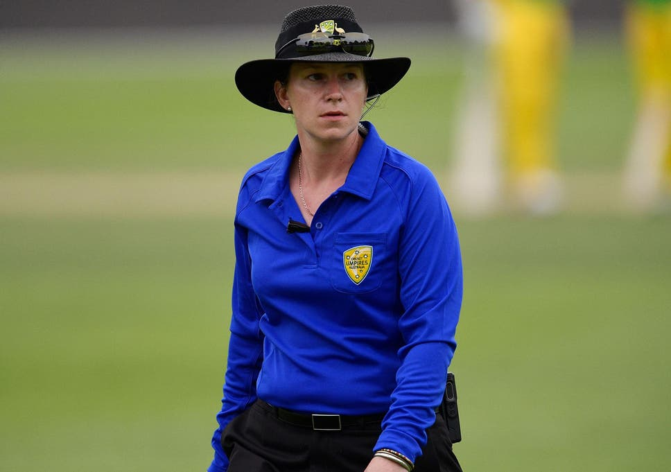 Image result for 'Special day' for history-making woman umpire