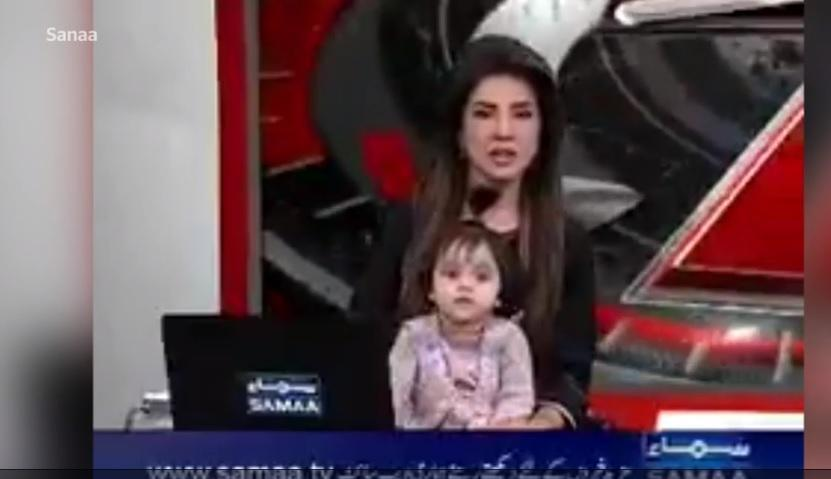 on air with young daughter to protest girl's rape and murder