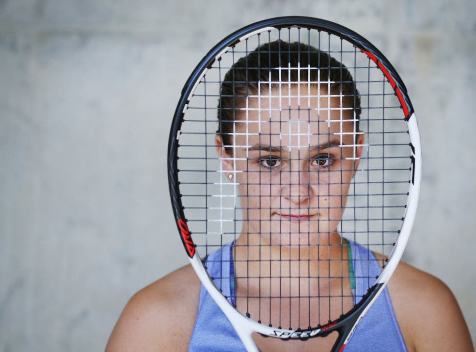 Ashleigh Barty has managed to carry the weight of expectation in her homeland
