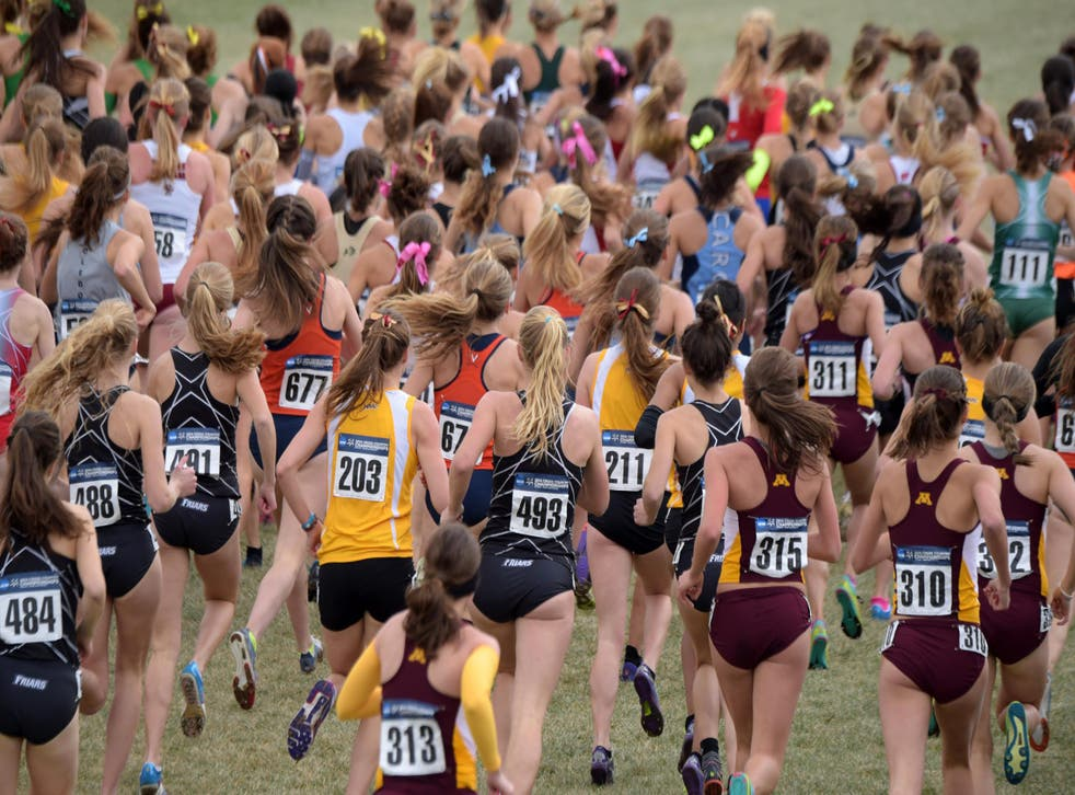Women's cross-country races are often quite a lot shorter than the men's.