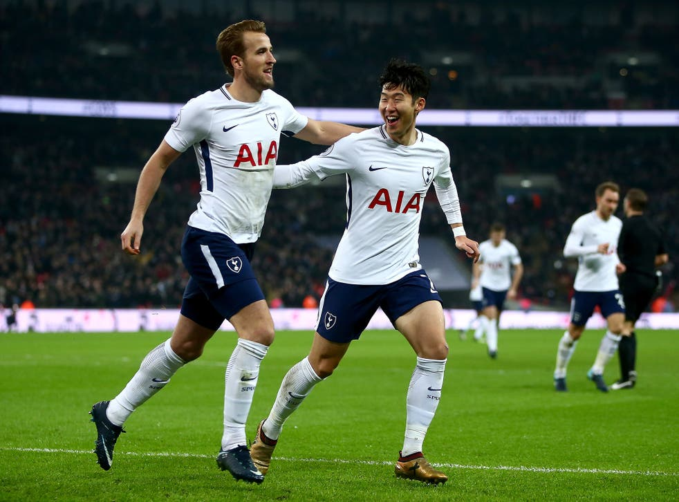 Harry Kane and Son Heung-min were the stars of the show