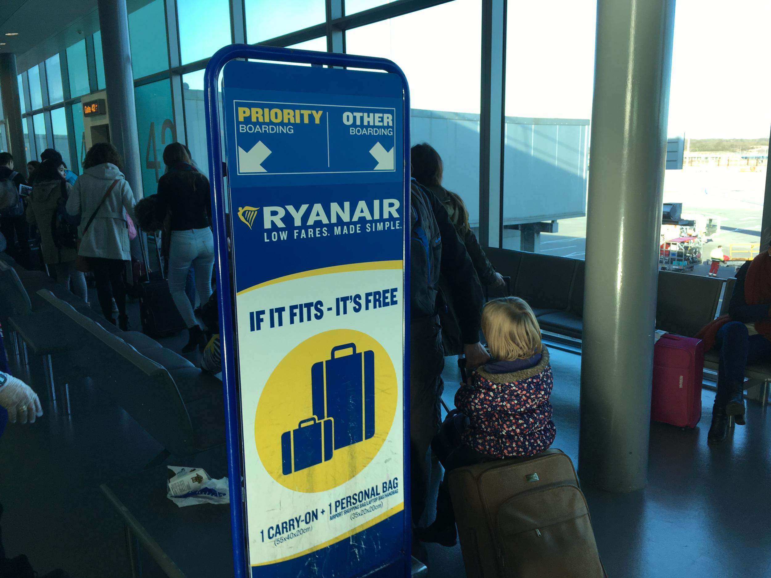 Ryanair passengers say they are 'held to ransom' by new ...