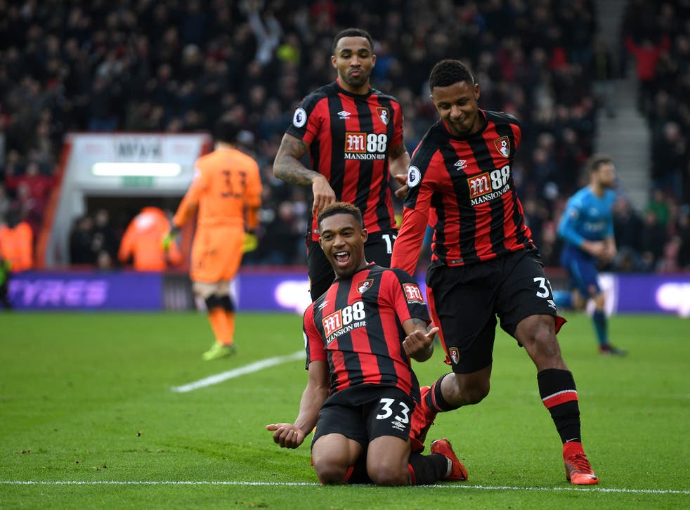 Jordon Ibe ended his barren run in front of goal