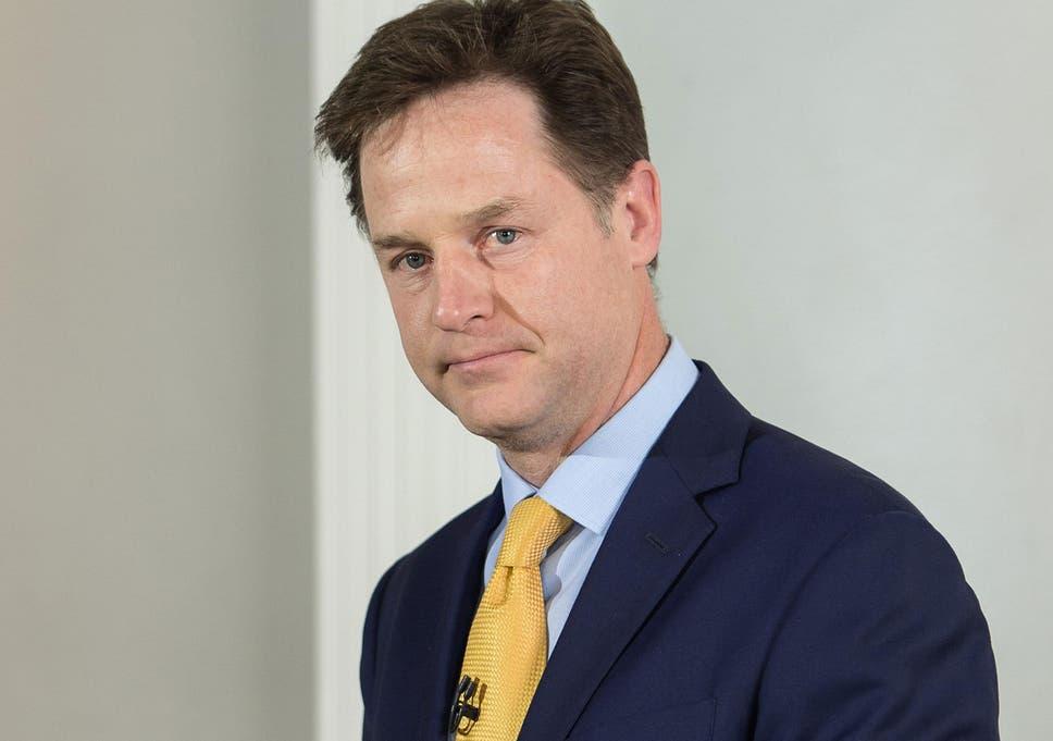 Risultati immagini per Nick Clegg.