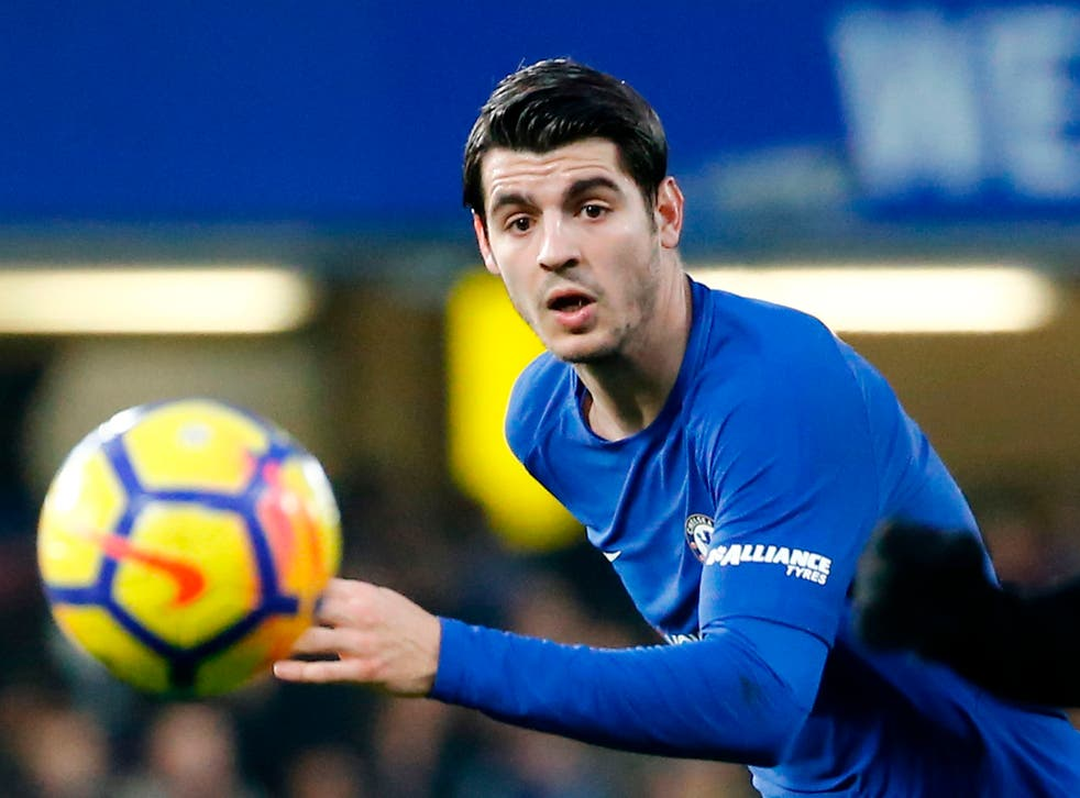 Morata moved from Real Madrid for £58m in the summer
