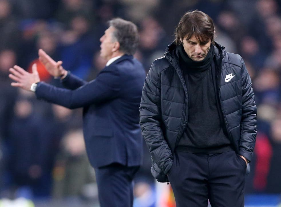 Antonio Conte has admitted the club's summer recruitment failed to meet his demands