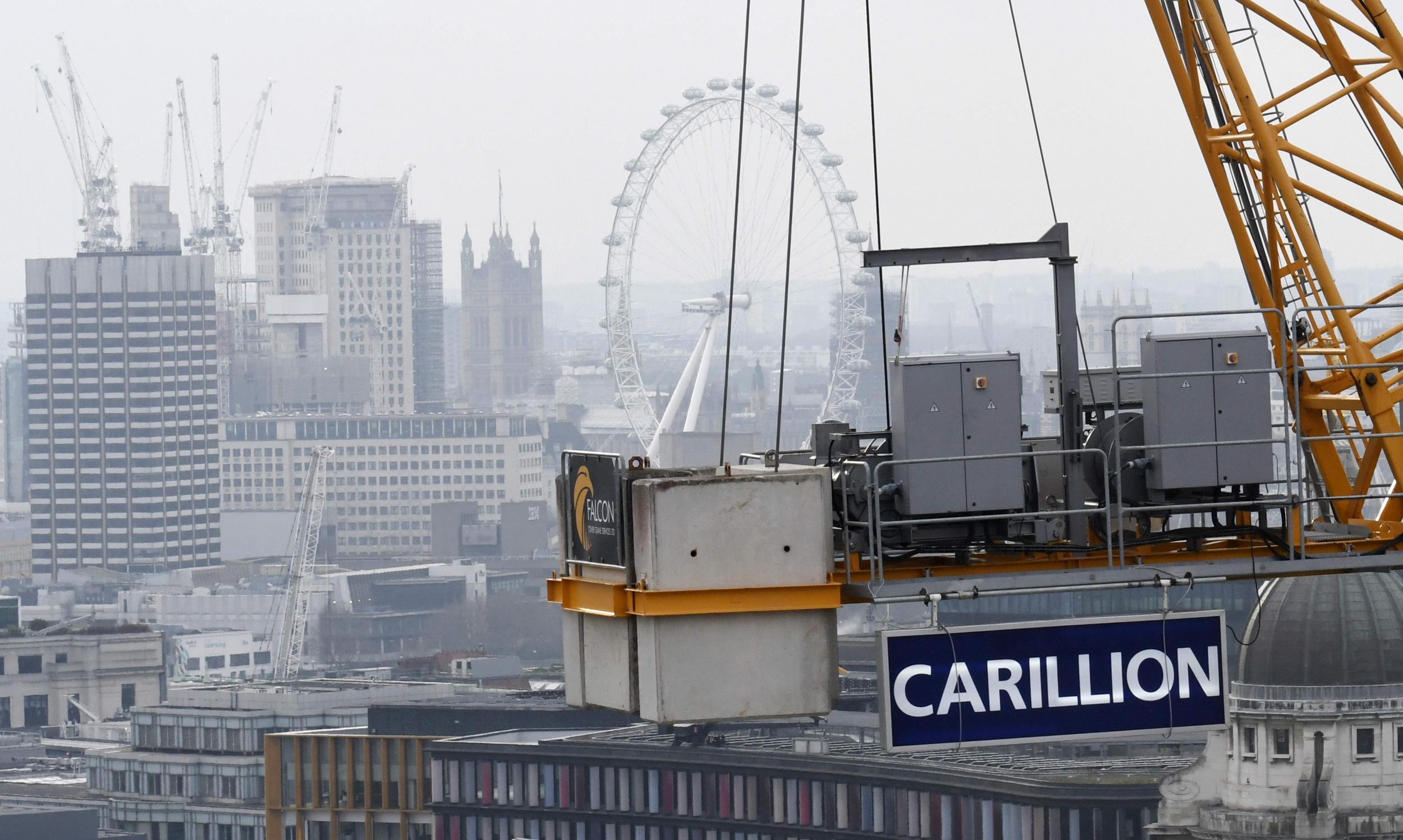 Carillion collapse: Government contractor enters compulsory