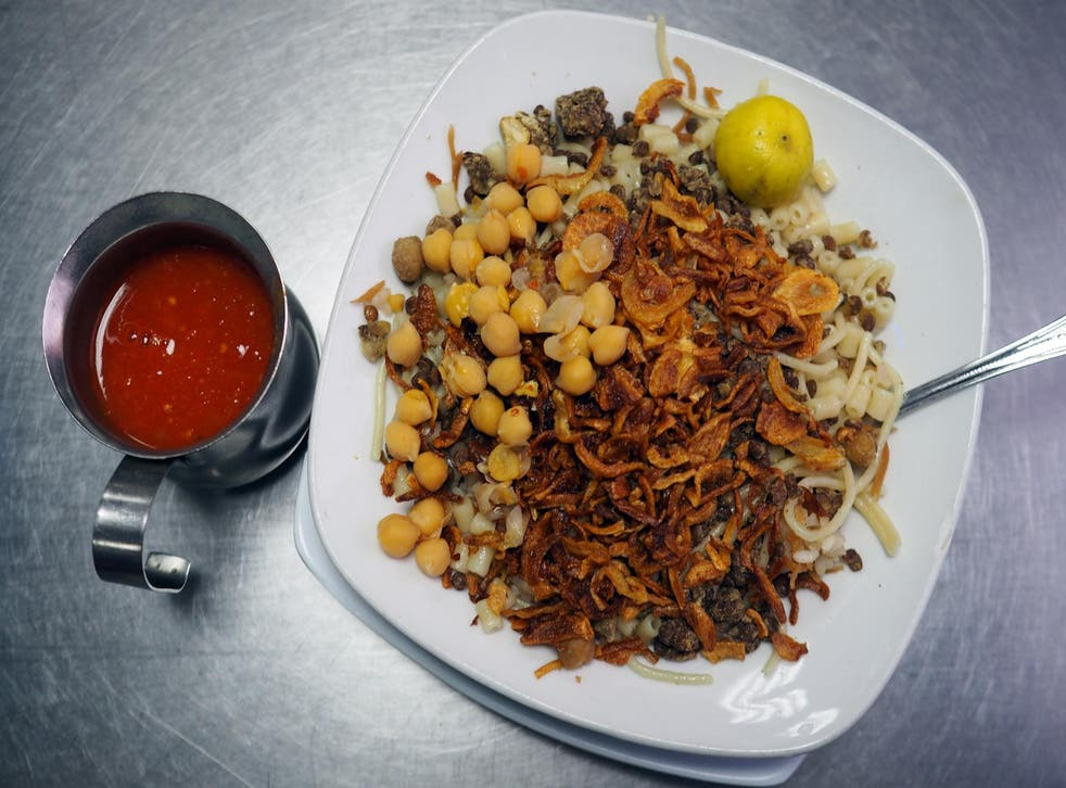 A new Cairo food tour introduces you to dishes like kushari