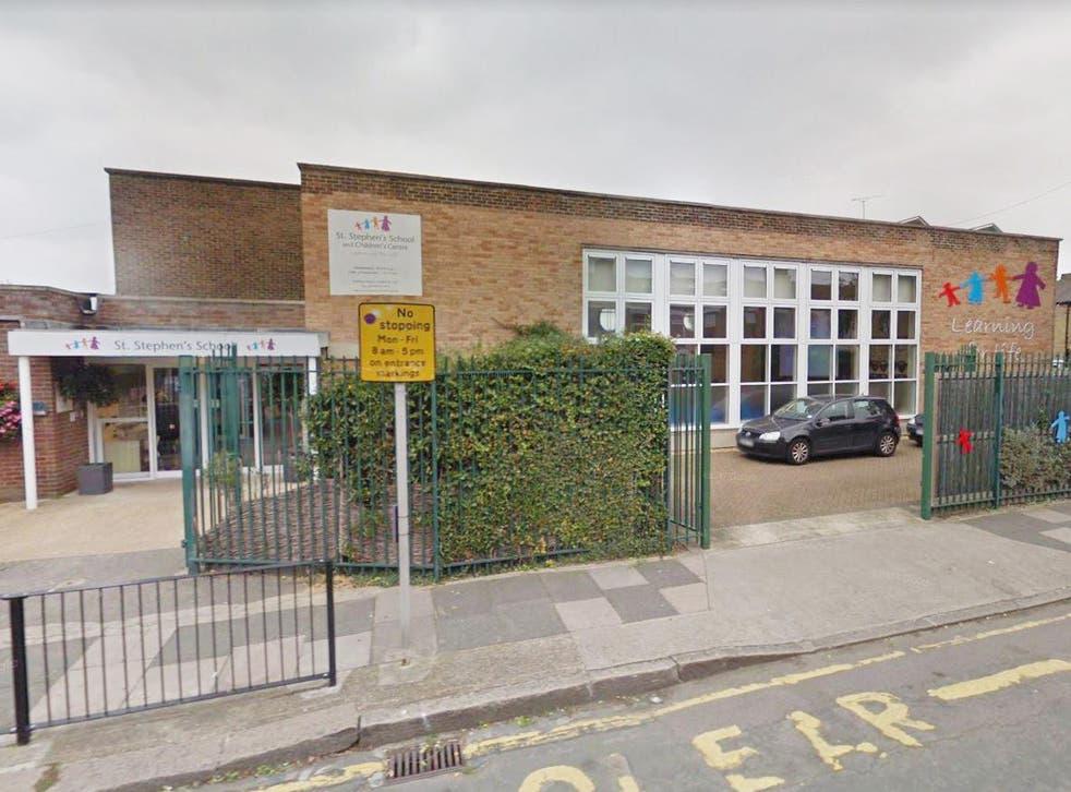 St Stephen's primary school in Newham