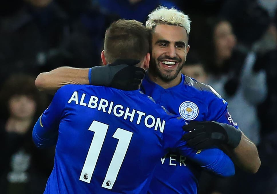 Manchester City Have Turned To Riyad Mahrez On The Eve Of The Deadline
