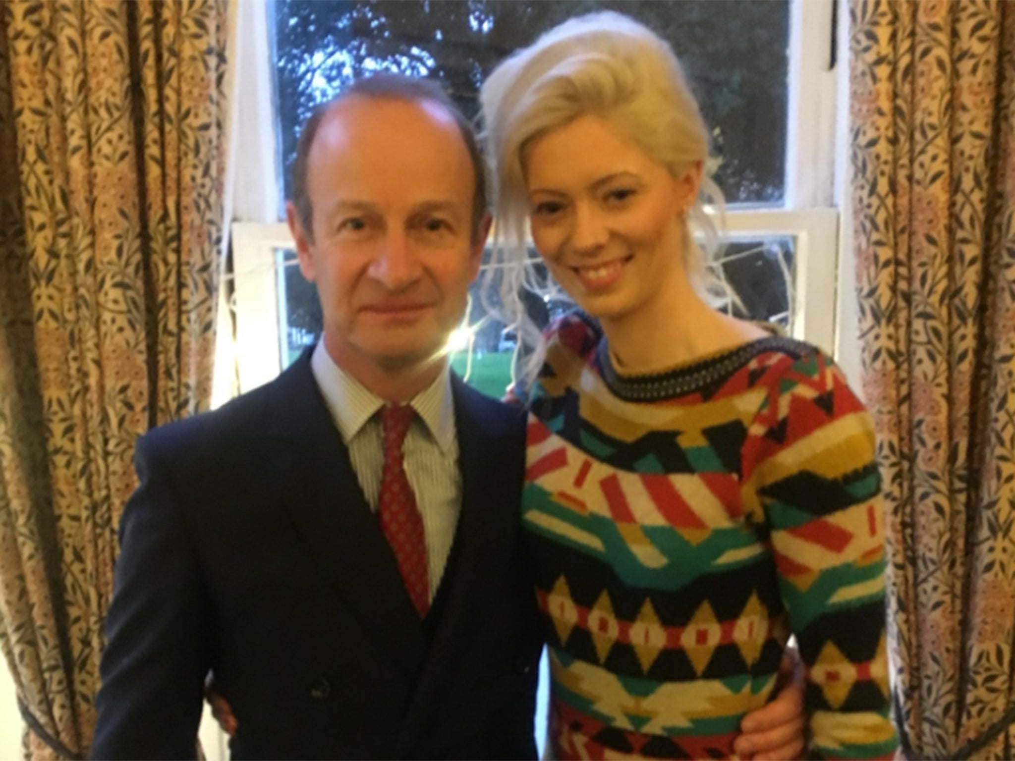 Henry Bolton: Ukip leader admits he still has 'strong affections' for ex-girlfriend who sent racist messages about Meghan Markle