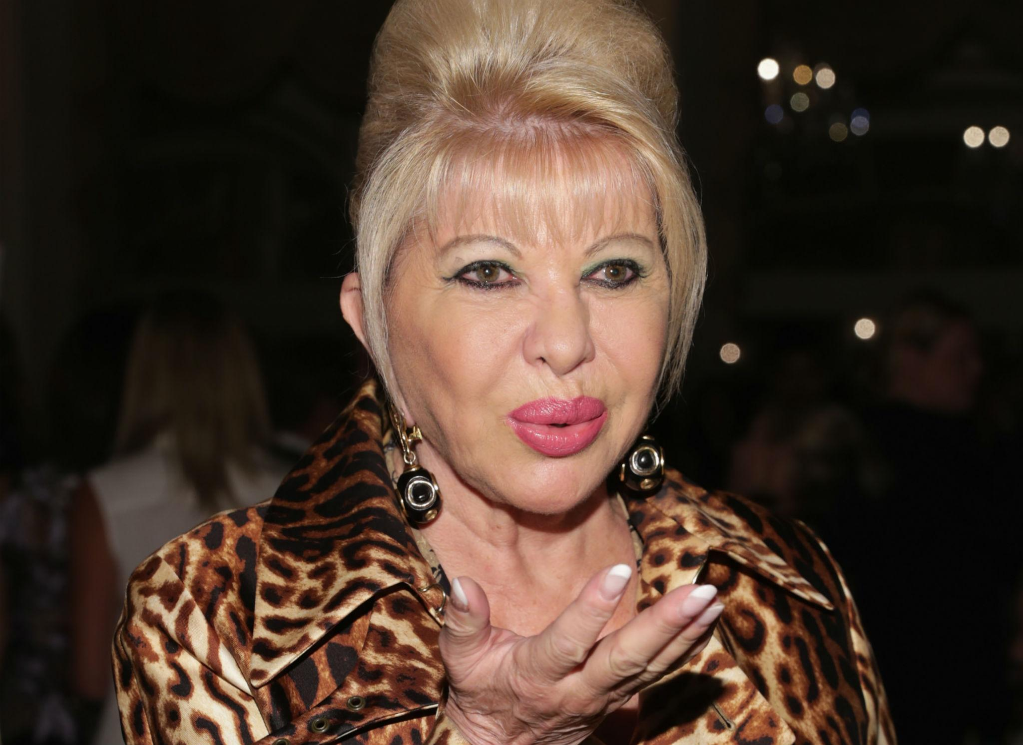 Ivana Trump: Donald is 'definitely not racist'. He just says 'silly things'