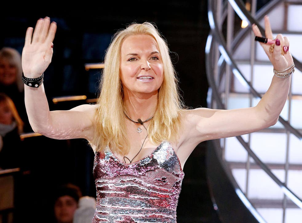 India Willoughby on Celebrity Big Brother