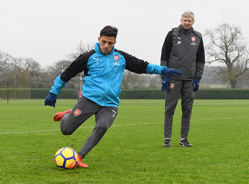 Alexis Sanchez is still waiting to make his exit from the Emirates