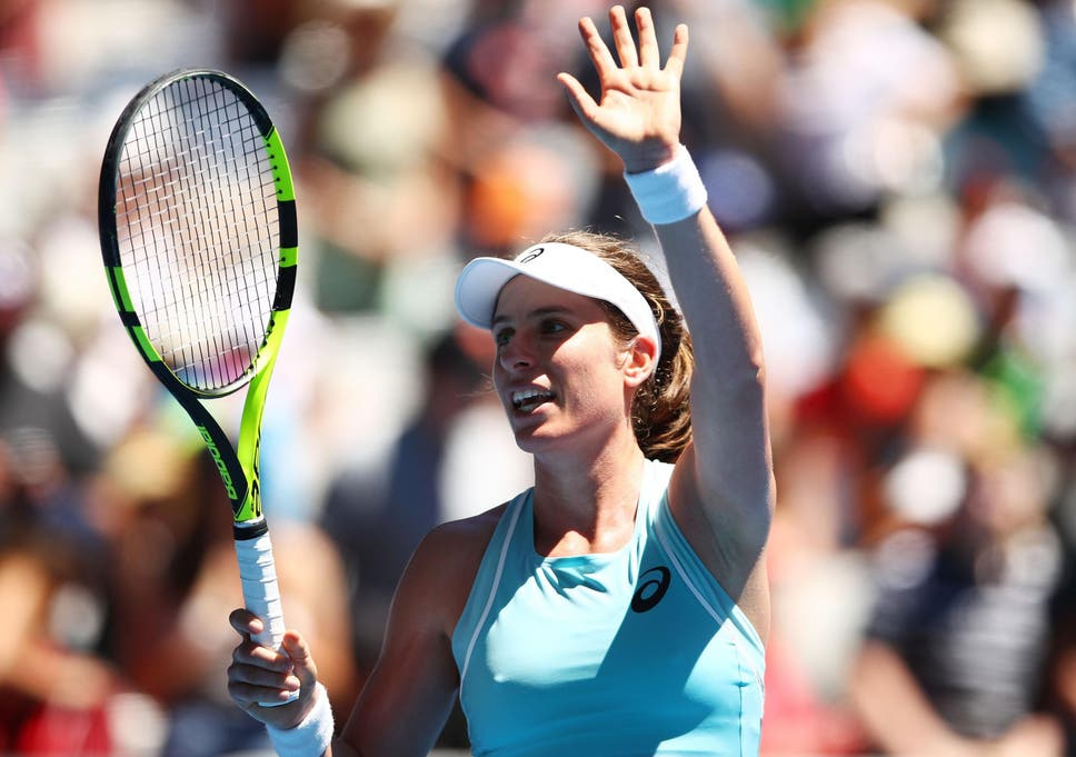 Image result for US Open: Johanna Konta finds consistency and guile to reach last 16