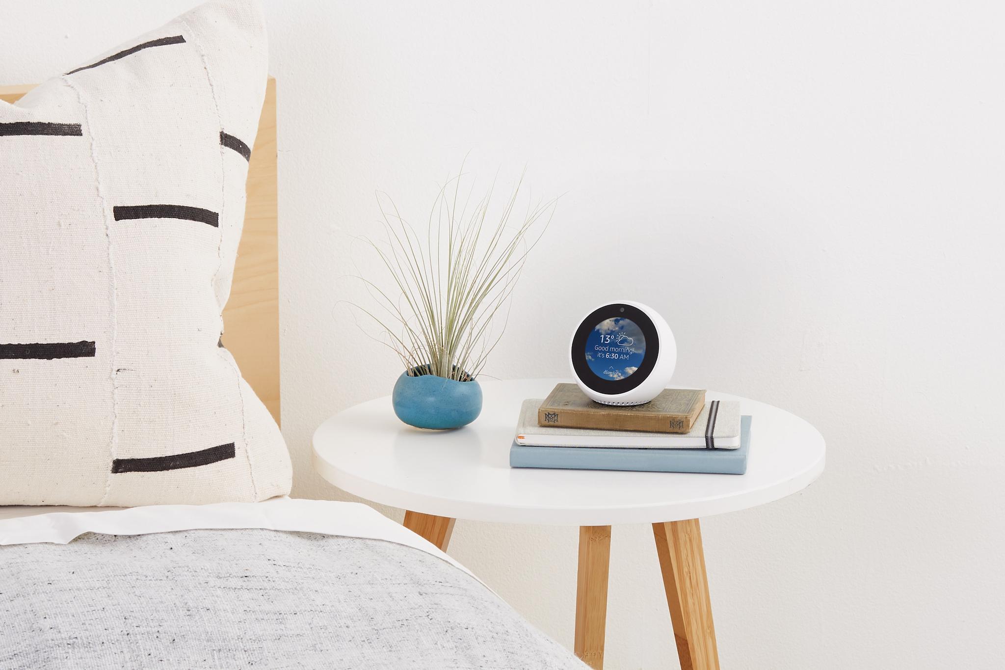 Amazon Echo Spot: Alexa comes to the bedroom as company reveals new smart alarm clock in UK