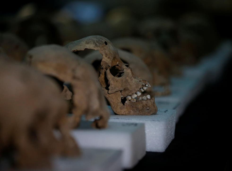 Scientists analysed DNA extracted from the teeth of skeletons in a cemetery in Mexico