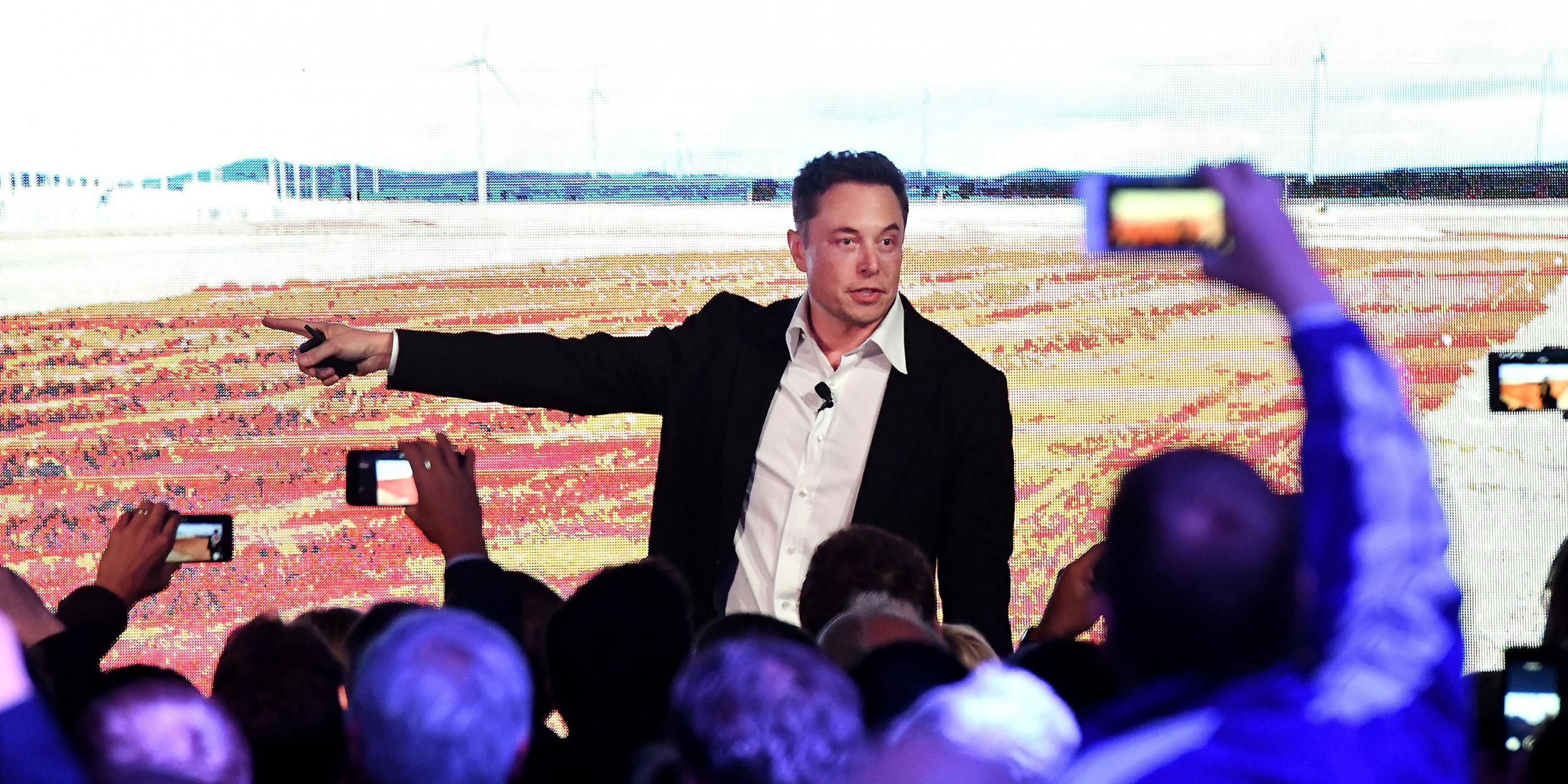 Tesla's massive battery is being paid to charge itself